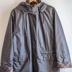 Waterproof Jacket Waxed Made in Finland Plaid